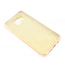"""Auksinės spalvos silikoninis blizgantis dėklas Samsung Galaxy A5 2016 telefonui """"Glitter Case Elektro"""""""