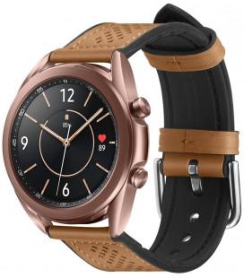 "Ruda apyrankė Samsung Galaxy Watch 3 41mm laikrodžiui ""Spigen Retro Fit Band"""