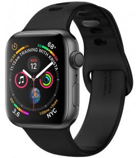 "Juoda apyrankė Apple Watch 2/3/4/5/6/SE (38/40mm) laikrodžiui ""Spigen Air Fit Band"""