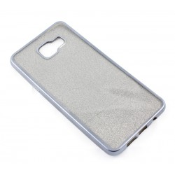 "Juodas silikoninis blizgantis dėklas Samsung Galaxy A5 2016 A510F telefonui ""Glitter Case Elektro"""