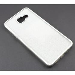 """Sidabrinės spalvos silikoninis blizgantis dėklas Samsung Galaxy A5 2016 A510F telefonui """"Glitter Case Elektro"""""""