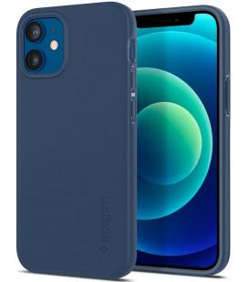 "Mėlynas dėklas Apple iPhone 12 Mini telefonui ""Spigen Thin Fit"""