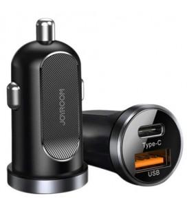 """Juodas automobilinis telefonų kroviklis PD30W/QC3.0 """"Joyroom Z-A08"""""""