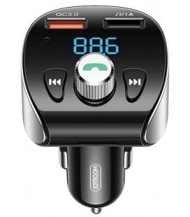 """Juodas automobilinis kroviklis 2xUSB + FM imtuvas """"Joyroom JR-CL02"""""""