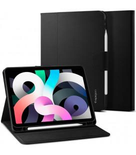 """Juodas atverčiamas dėklas Apple iPad Air 4 2020 planšetei """"Spigen Liquid Air Folio"""""""