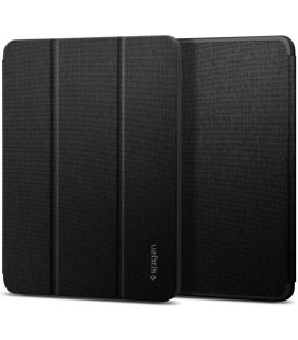 """Juodas atverčiamas dėklas Apple iPad Air 4 2020 plašetei """"Spigen Urban Fit"""""""