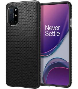 """Juodas dėklas Oneplus 8T telefonui """"Spigen Liquid Air"""""""