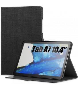 """Juodas atverčiamas dėklas Samsung Galaxy Tab A7 10.4 T500/T505 planšetei """"Infiland Classic Stand"""""""