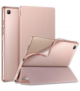 """Rožinis atverčiamas dėklas Samsung Galaxy Tab A7 10.4 T500/T505 planšetei """"Infiland Smart Stand"""""""