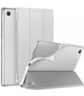 """Sidabrinės spalvos atverčiamas dėklas Samsung Galaxy Tab A7 10.4 T500/T505 planšetei """"Infiland Smart Stand"""""""