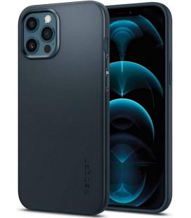 "Pilkas dėklas Apple iPhone 12 Pro Max telefonui ""Spigen Thin Fit"""