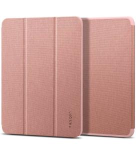 """Rausvai auksinės spalvos atverčiamas dėklas Apple iPad Air 4 2020 plašetei """"Spigen Urban Fit"""""""
