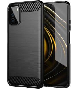 """Juodas dėklas Xiaomi Poco M3 telefonui """"Tech-Protect"""""""