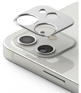 """Sidabrinės spalvos kameros apsauga Apple iPhone 12 Mini telefonui """"Ringke Camera Styling"""""""