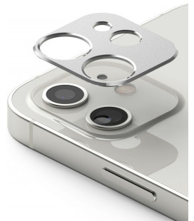 """Sidabrinės spalvos kameros apsauga Apple iPhone 12 telefonui """"Ringke Camera Styling"""""""