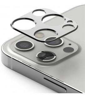 """Sidabrinės spalvos kameros apsauga Apple iPhone 12 Pro Max telefonui """"Ringke Camera Styling"""""""