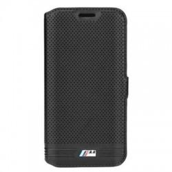 """Juodas atverčiamas dėklas Samsung Galaxy S7 telefonui """"BMW"""""""