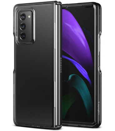 "Juodas dėklas Samsung Galaxy Z Fold 2 telefonui ""Spigen Ultra Hybrid"""