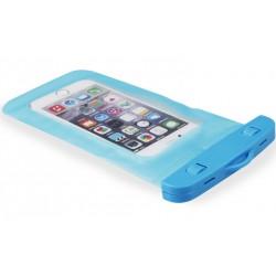 Mėlynas universalus vandeniui atsparus telefono dėklas (10cm x 18cm)