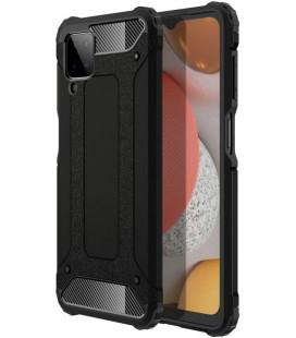 """Juodas dėklas Samsung Galaxy A12 2020 / 2021 telefonui """"Tech-Protect Xarmor"""""""