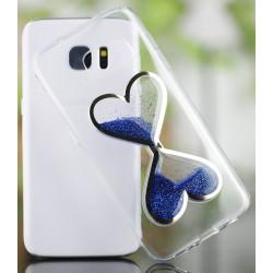 "Melynas silikoninis dėklas Samsung Galaxy A5 2016 A510F telefonui ""Liquid Heart"""