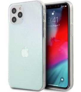 "Dėklas Apple iPhone 12 Pro Max telefonui ""GUHCP12L3D4GIRBL Guess 3D Raised Cover"""