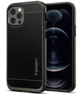 "Pilkas dėklas Apple iPhone 12/12 Pro telefonui ""Spigen Neo Hybrid"""