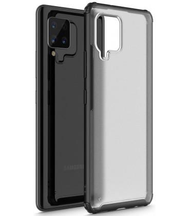 "Juodas dėklas Samsung Galaxy A42 5G telefonui ""Tech-Protect Hybridshell"""
