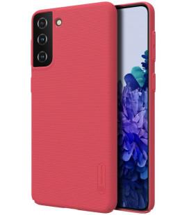 """Raudonas dėklas Samsung Galaxy S21 Plus telefonui """"Nillkin Frosted Shield"""""""