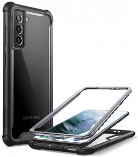 """Juodas dėklas Samsung Galaxy S21 telefonui """"Supcase IBLSN ARES"""""""