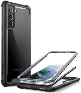"""Juodas dėklas Samsung Galaxy S21 Plus telefonui """"Supcase IBLSN ARES"""""""