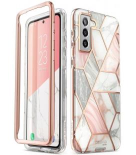 """Dėklas su marmuro efektu Samsung Galaxy S21 Plus telefonui """"Supcase Cosmo"""""""