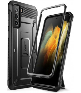 """Juodas dėklas Samsung Galaxy S21 Plus telefonui """"Supcase Unicorn Beetle Pro"""""""