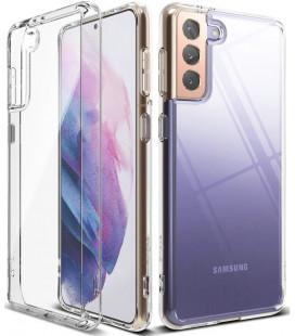"""Skaidrus dėklas Samsung Galaxy S21 telefonui """"Ringke Fusion"""""""