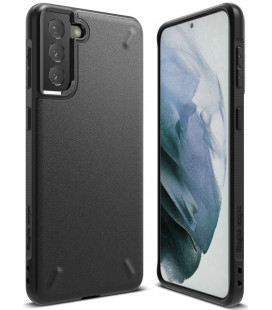 """Juodas dėklas Samsung Galaxy S21 telefonui """"Ringke Onyx"""""""