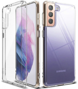 """Skaidrus dėklas Samsung Galaxy S21 Plus telefonui """"Ringke Fusion"""""""