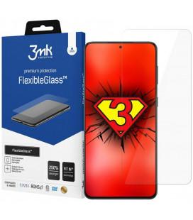 "Ekrano apsauga Samsung Galaxy S21 telefonui ""3MK Flexible Glass"""