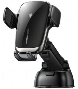 """Juodas automobilinis telefono laikiklis su belaidžio krovimo funkcija """"Joyroom JR-ZS248"""""""