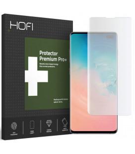 """Skaidrus apsauginis grūdintas stiklas Samsung Galaxy S10 Plus telefonui """"Hofi UV Glass"""""""
