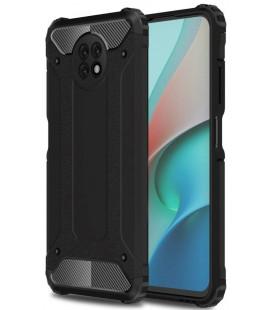 """Juodas dėklas Xiaomi Redmi Note 9T 5G telefonui """"Tech-Protect Xarmor"""""""