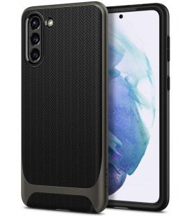 "Pilkas dėklas Samsung Galaxy S21 telefonui ""Spigen Neo Hybrid"""