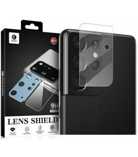 """Apsauginis grūdintas stiklas Samsung Galaxy S21 Ultra telefono kamerai apsaugoti """"Mocolo TG+ Camera Lens"""""""