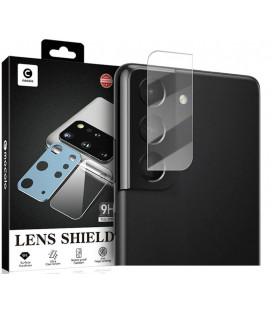 """Apsauginis grūdintas stiklas Samsung Galaxy S21 Plus telefono kamerai apsaugoti """"Mocolo TG+ Camera Lens"""""""
