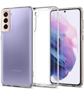 "Skaidrus dėklas Samsung Galaxy S21 telefonui ""Spigen Ultra Hybrid"""