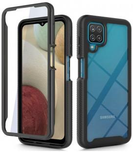 """Juodas dėklas Samsung Galaxy A12 2020 / 2021 telefonui """"Tech-protect Defense360"""""""