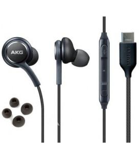 """Originalios juodos Samsung stereo ausinės Type-C """"AKG EO-IC100BBE"""""""