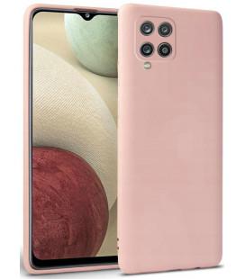 """Rožinis dėklas Samsung Galaxy A12 2020 / 2021 telefonui """"Tech-protect Icon"""""""
