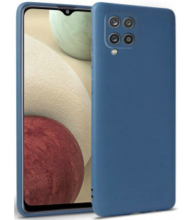 "Mėlynas dėklas Samsung Galaxy A12 telefonui ""Tech-protect Icon"""