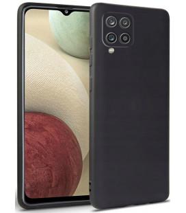 """Juodas dėklas Samsung Galaxy A12 2020 / 2021 telefonui """"Tech-protect Icon"""""""