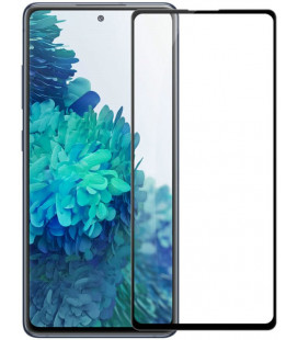 """Juodas apsauginis grūdintas stiklas Samsung Galaxy S20 FE telefonui """"Nillkin Amazing 2.5D CP+ Pro"""""""